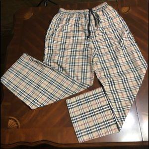 Other - New Men's Tan Black White Striped Trousers Pants